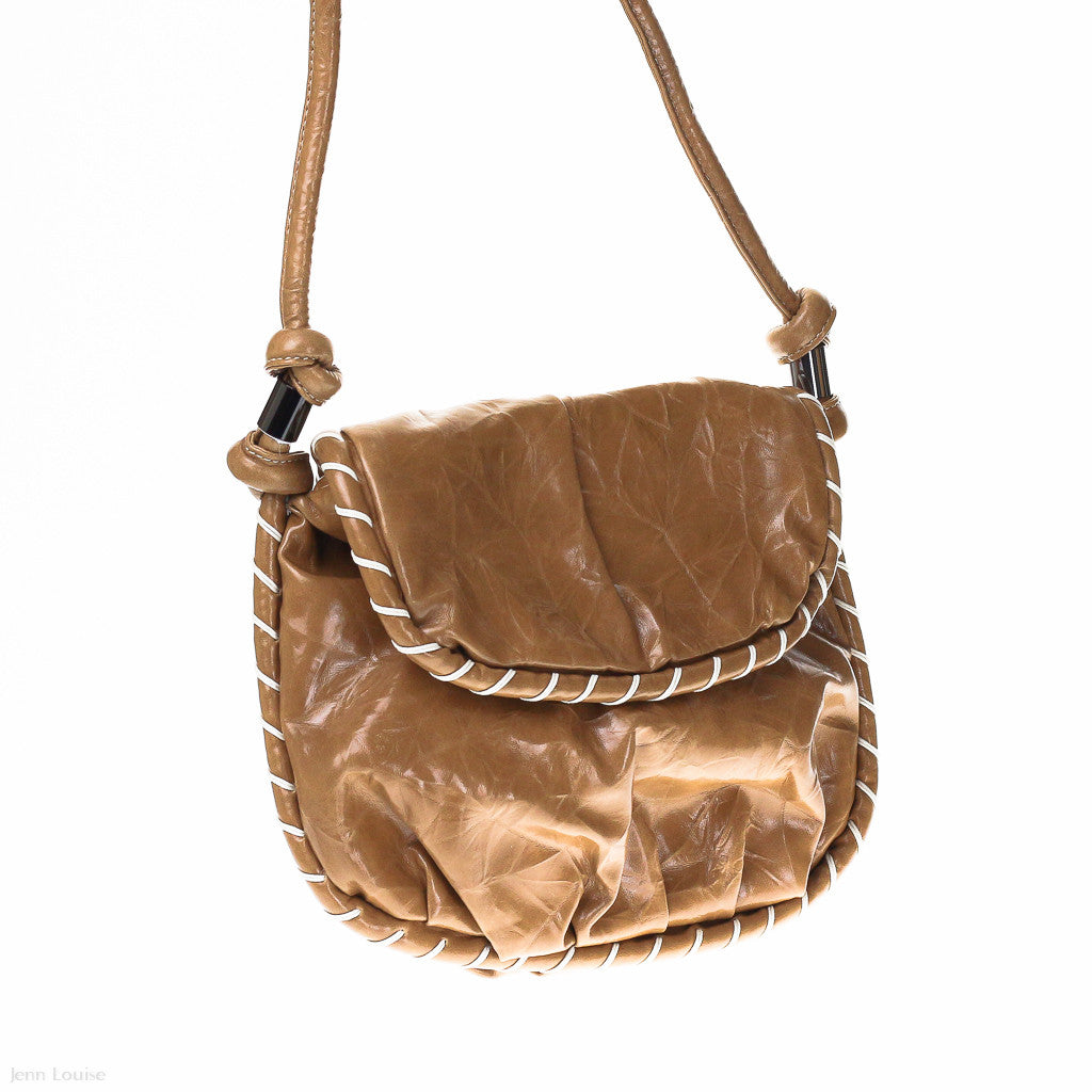 Voyage Cross Body Bag (Camel)