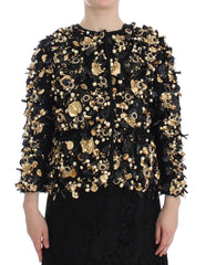 Black Gold Crystal SPECIAL PIECE Jacket