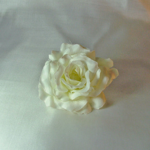 White Silky Hair Rose