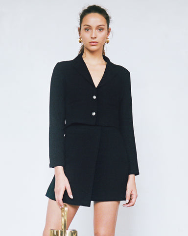 Mina Blazer and Andrea Skirt