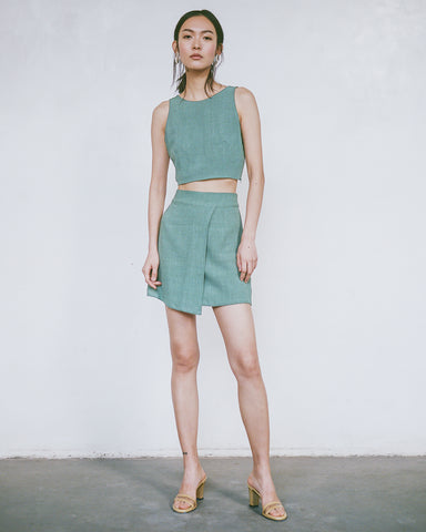 Erica Crop and Andrea Skirt