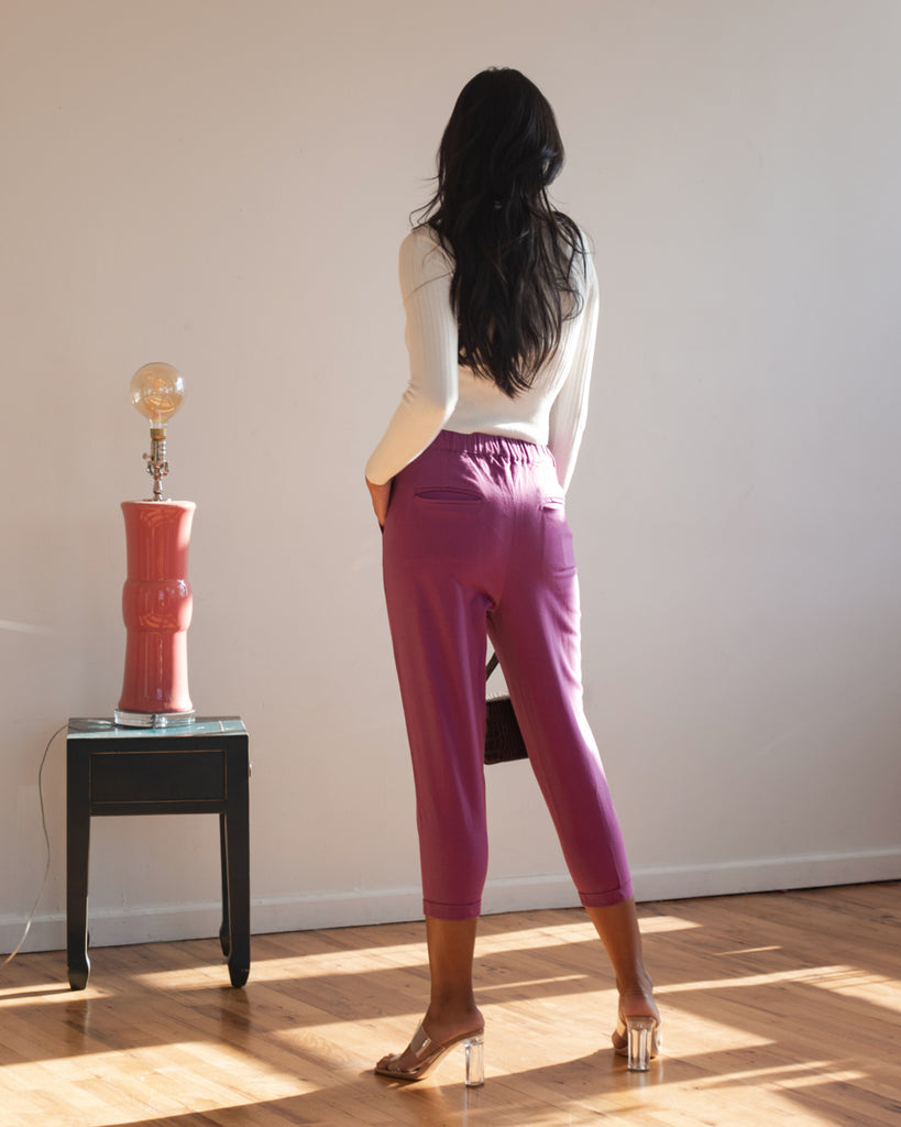 Katherine Pants in Purple