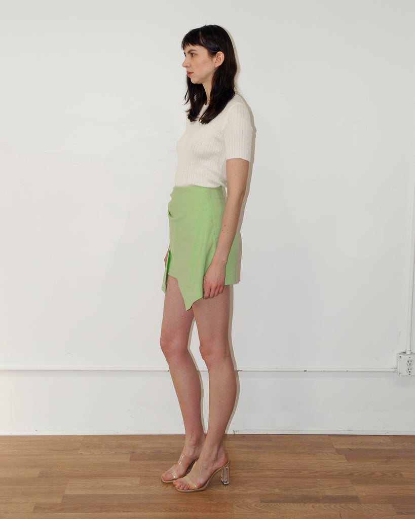 Maya Skirt in Lime