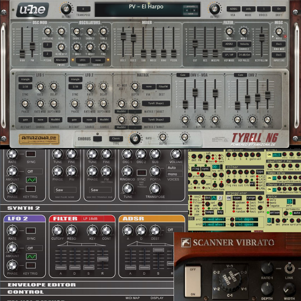 10 Free Synth Plugins