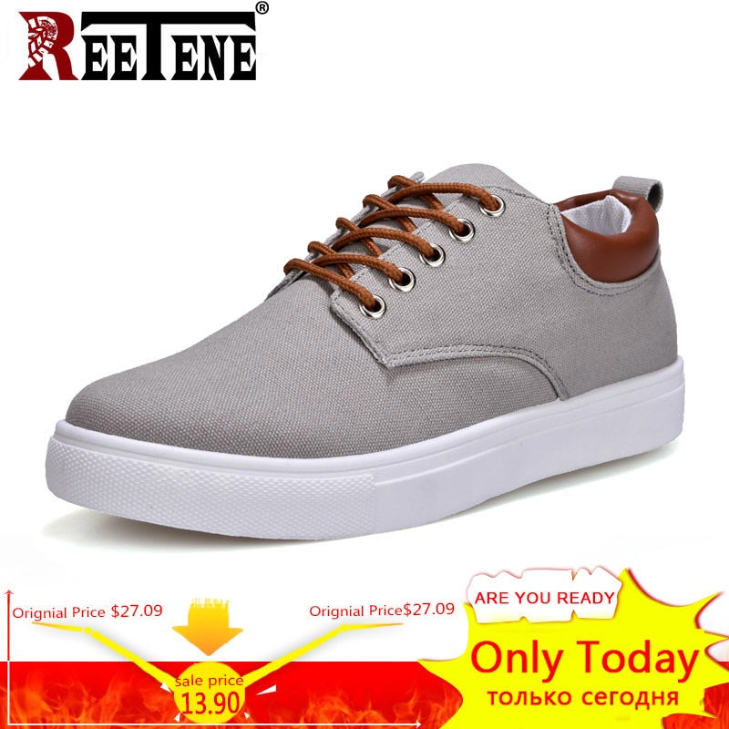 2a5682bd5ea New Arrival Spring Summer Comfortable Casual Shoes Mens Canvas Shoes For Men  Lace-Up Brand