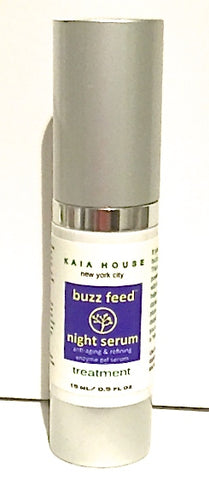 Kaia House Organics Buzz Feed Night Serum