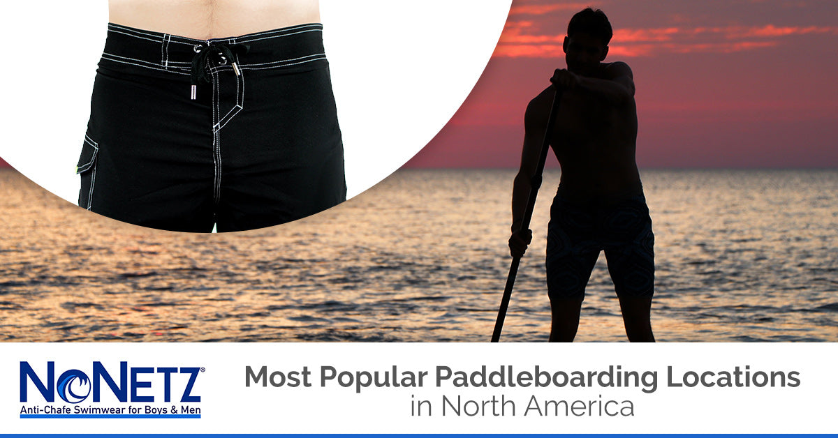 Most Popular Paddleboarding Locations in North America