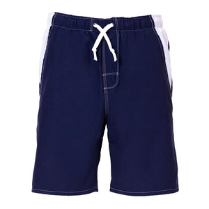 most comfortable blue white mens swim trunks with no nets