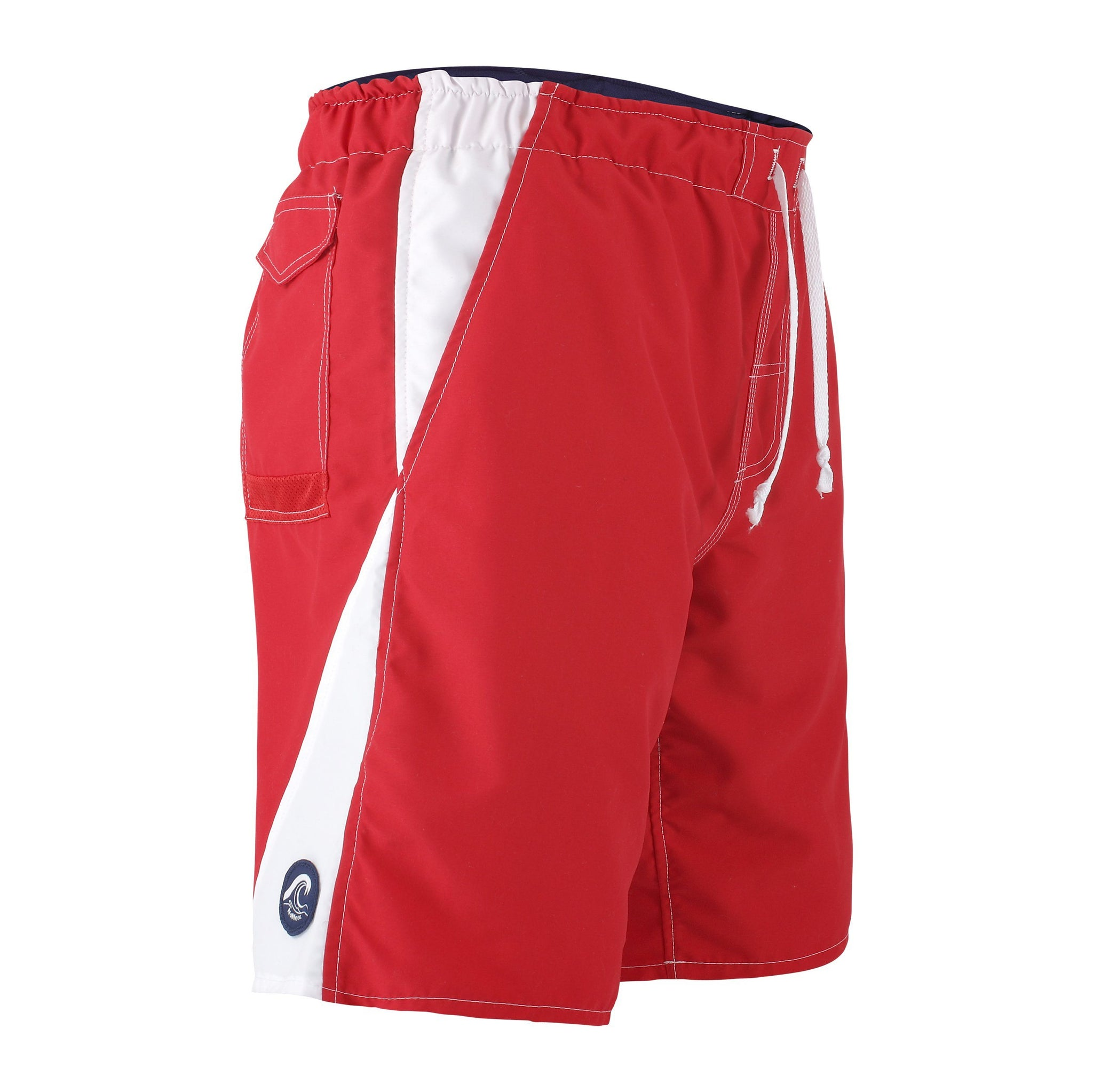 0542d9b268 The Zone - Men's Red and White Bathing Suit | NoNetz