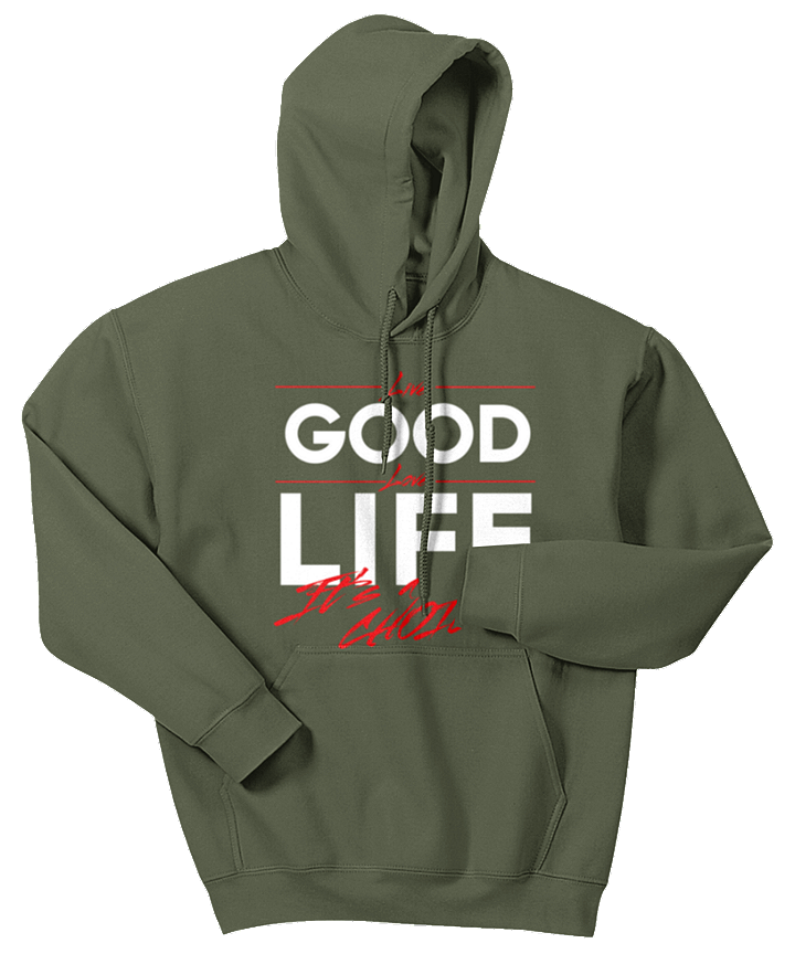 Live Good Love Life - It's a Choice Hoodie