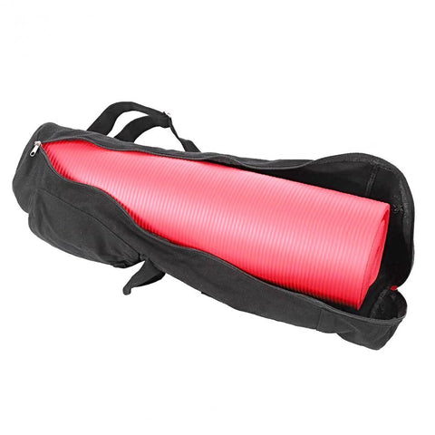 Black Yoga Mat Storage Bag