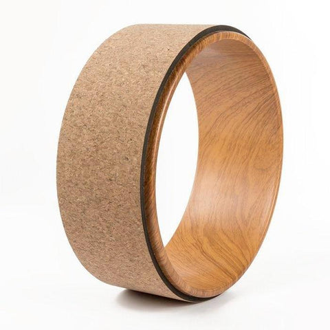 Wooden Flex Yoga Wheel