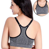 Fitness Bra Vest with Padded Cups