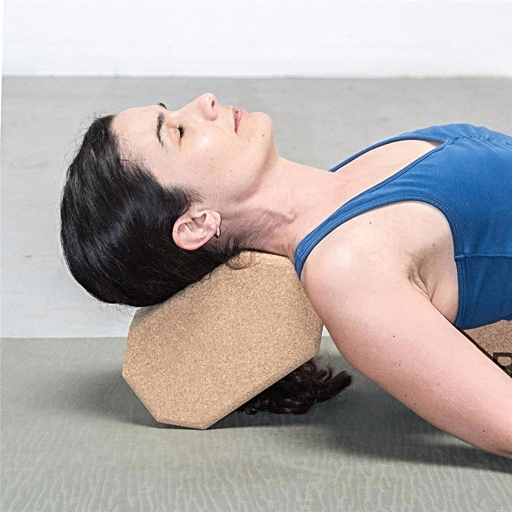 Six Sided Yoga Cork Block