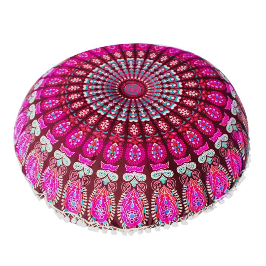 Meditation Large Floor Cushion Cover