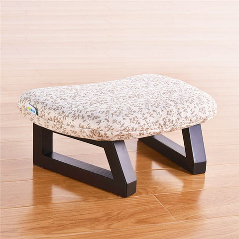 Meditation Stool - Beige Flower