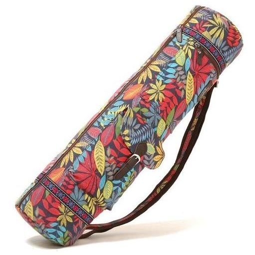 Color Printed Yoga mat Bag