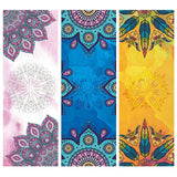 Colorful Yoga Size Mat Towels