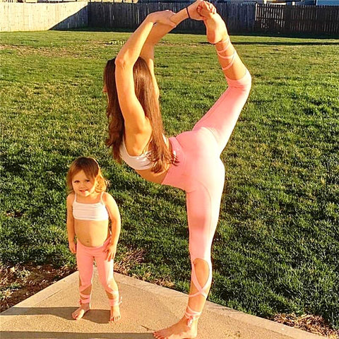 Mum and Daughter Fitness Outfit