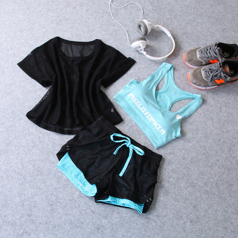 Easy Quick Dry Fitness Outfit - Set