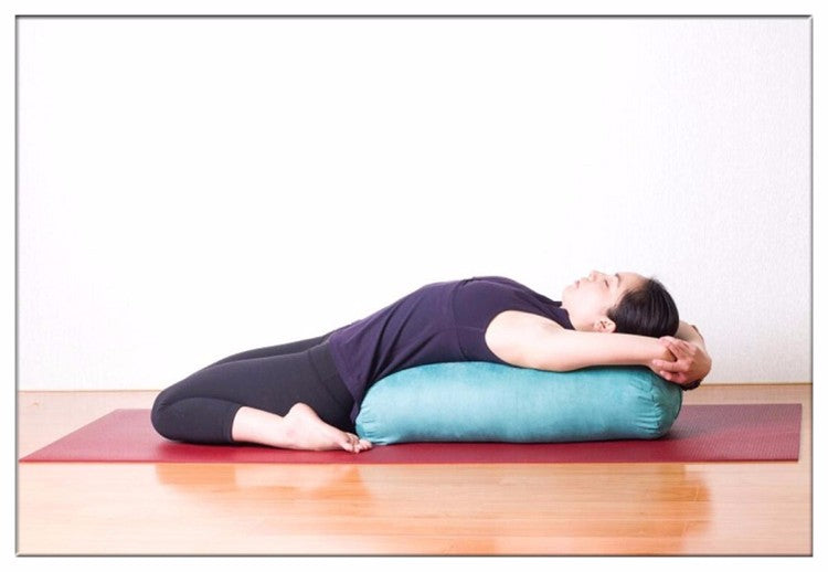 High Elastic Bolster Yoga Cushion