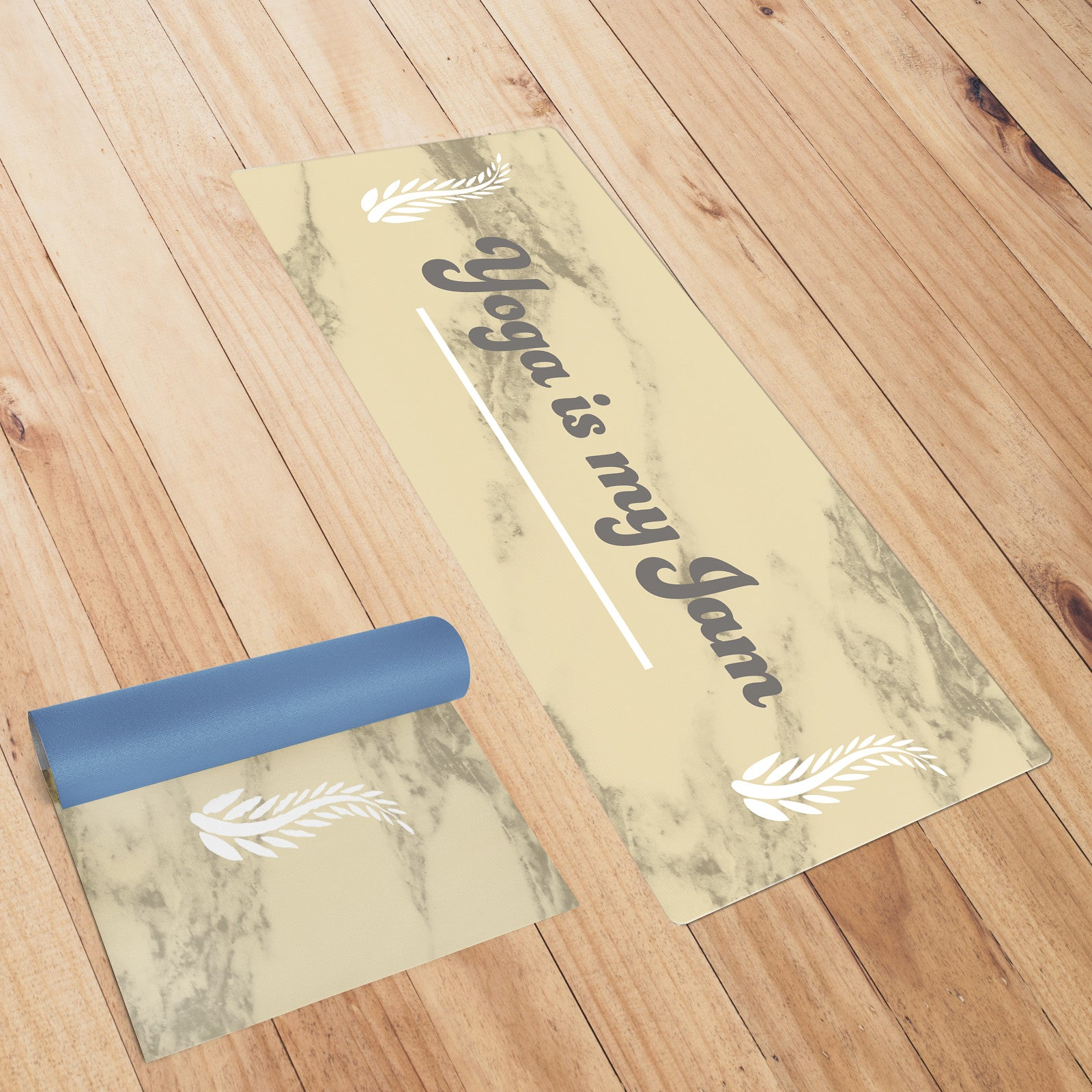 Yoga is my Jam Gold Yoga Mat