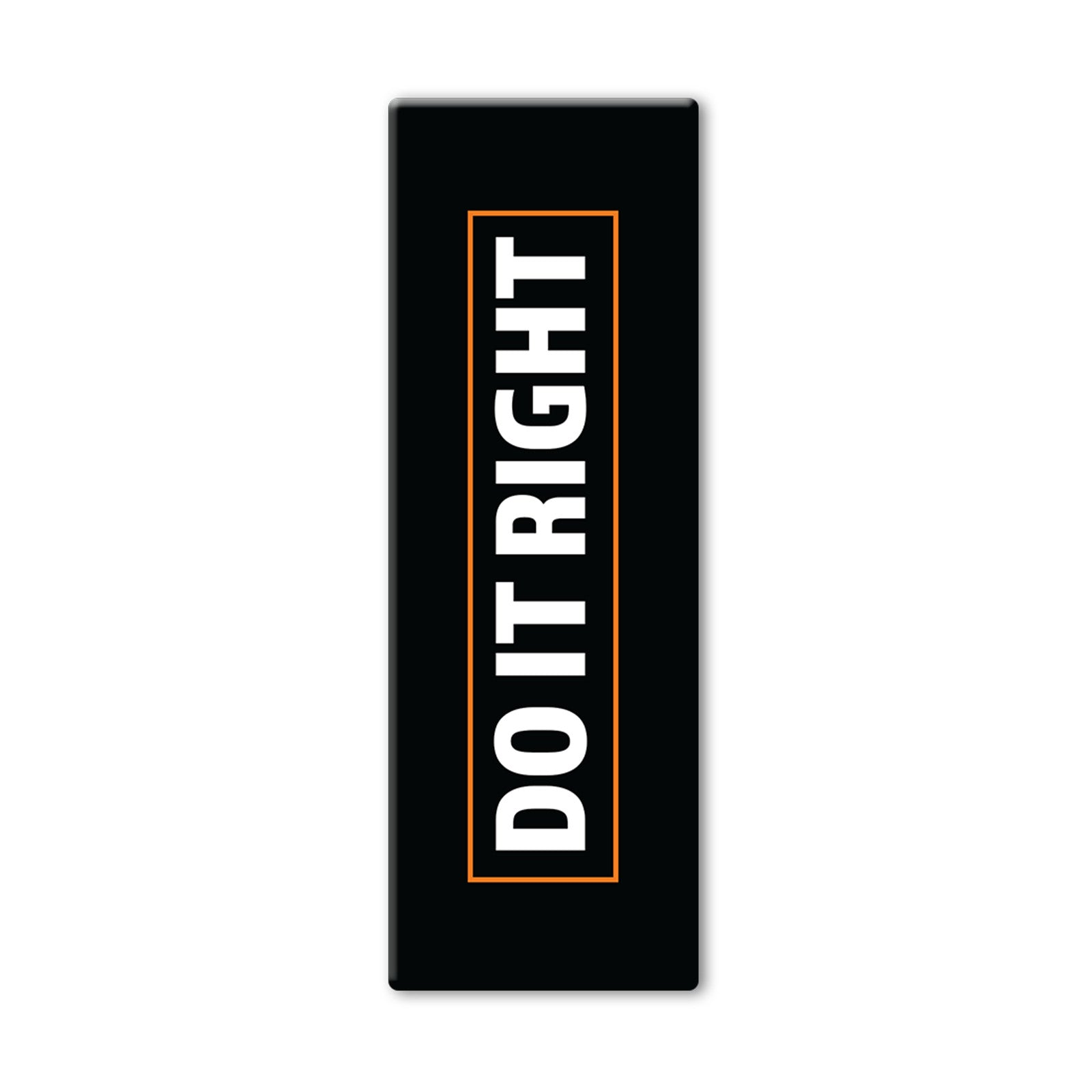 Do It Right Black Yoga Mat