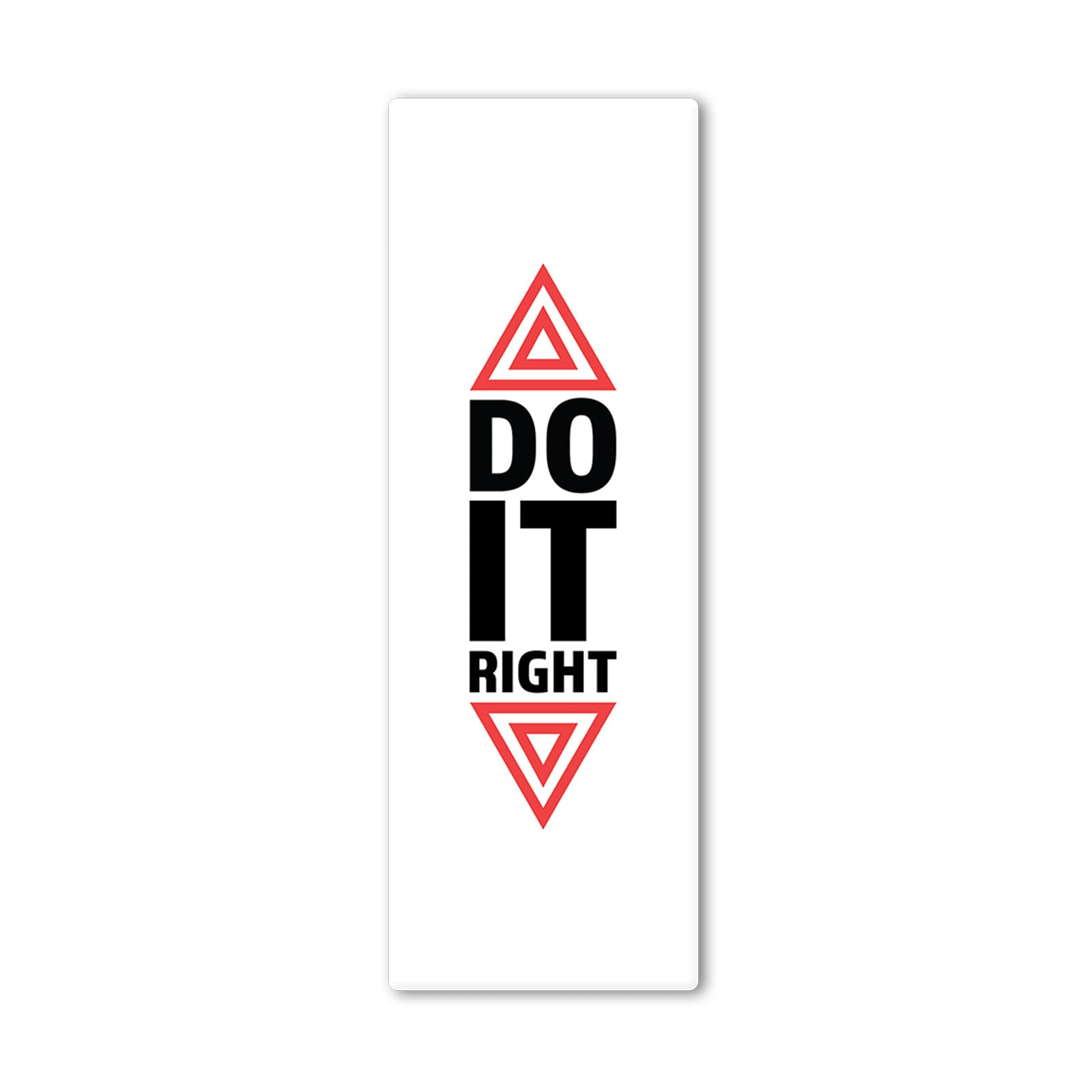 Do It Right White Yoga Mat