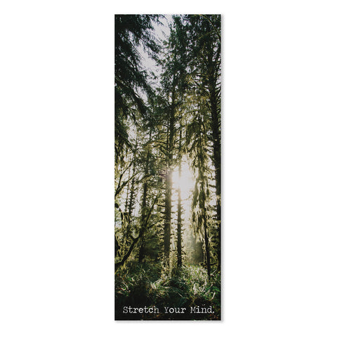 Stretch Your Mind Yoga Mat