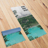 Mind, Body, Spirit Yoga Mat