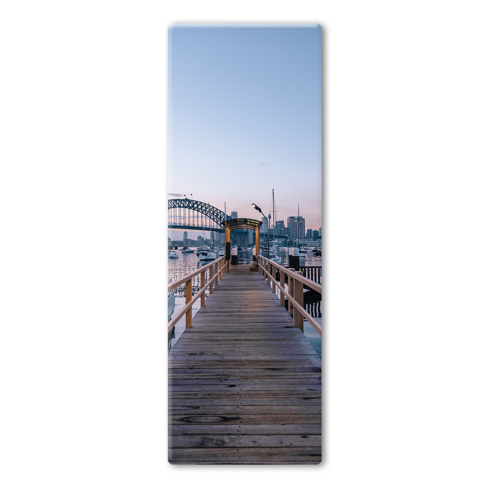 Australian Harbour View Yoga Mat