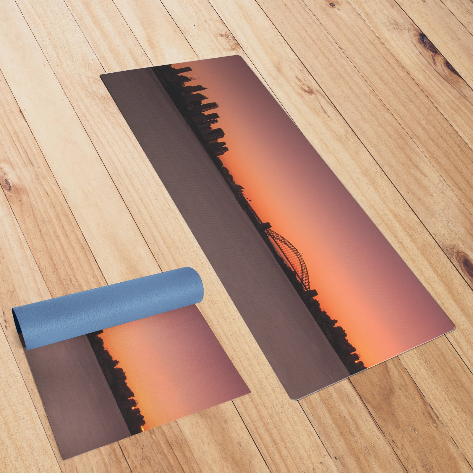 Australian Harbour Bridge Yoga Mat