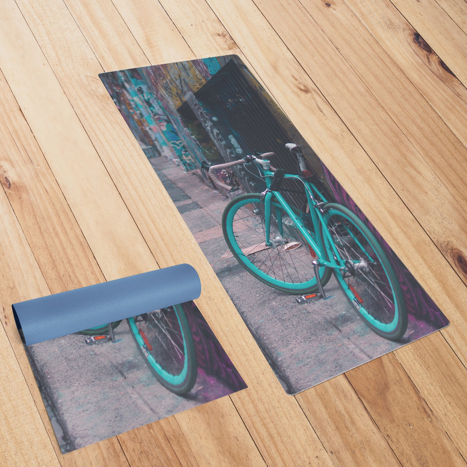 Australian Bike Yoga Mat