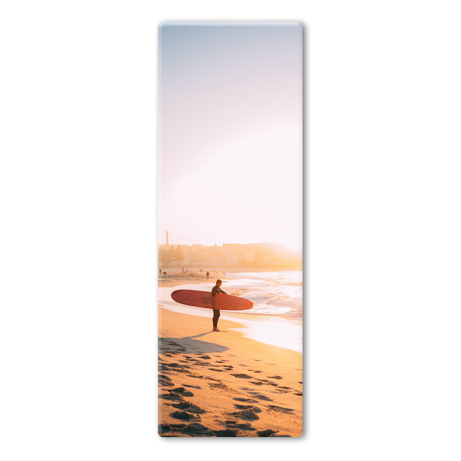 Australian Sunset Surfboard Yoga Mat