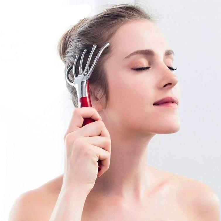 Electric Scalp Massager iyoganic.com