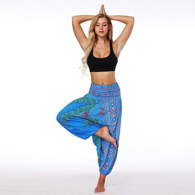 Casual Harem Pants (Blue)