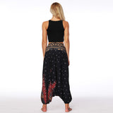 Casual Harem Pants (Black)