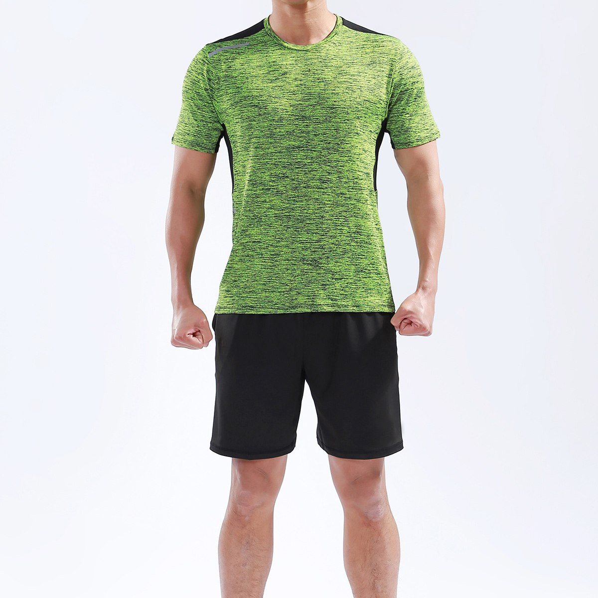 Mens Top & Shorts Fitness