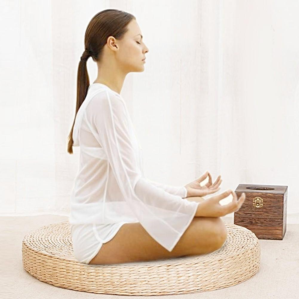 Round Meditation Tatami Cushion
