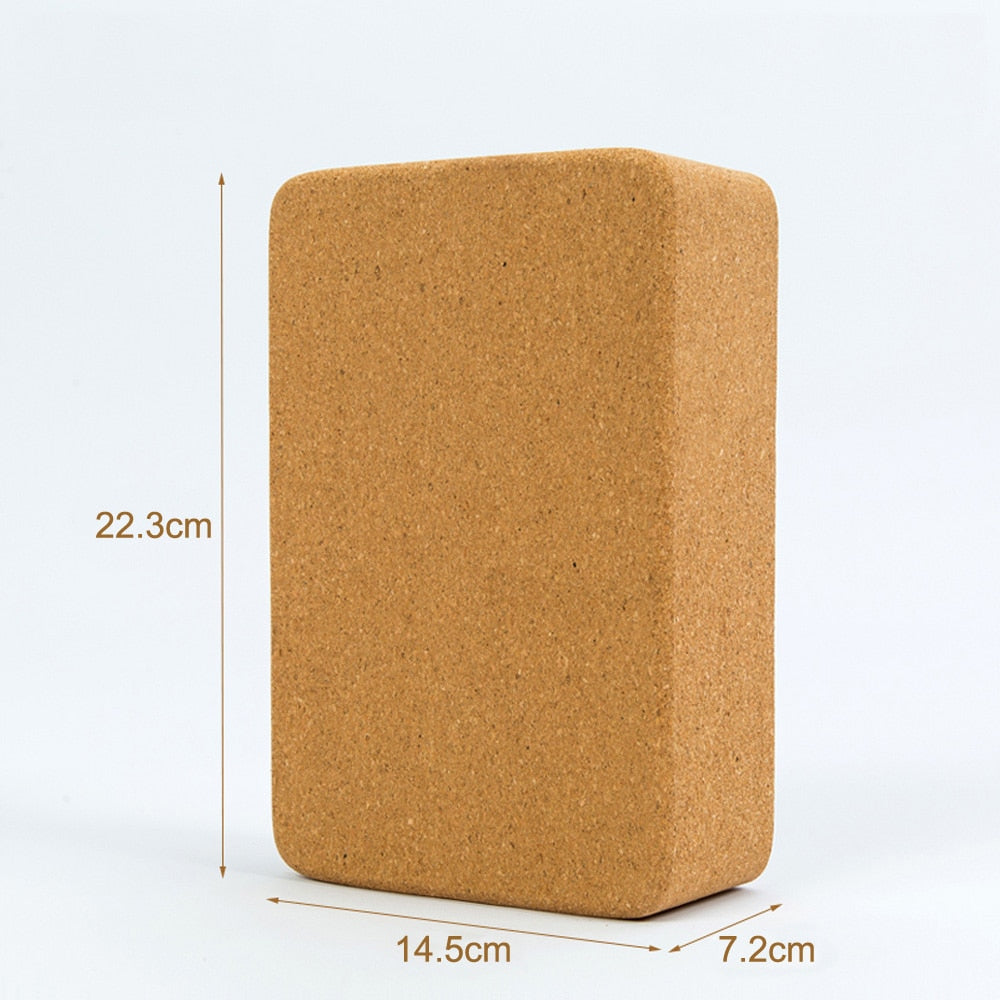 High Density Cork Yoga Block