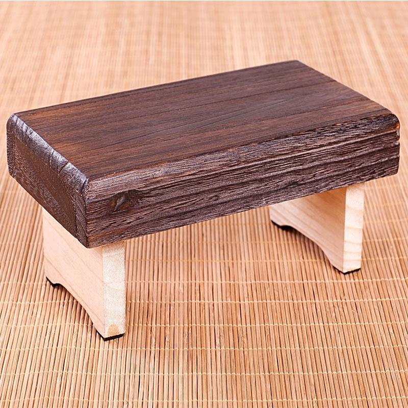 Portable Meditation Wooden Stool