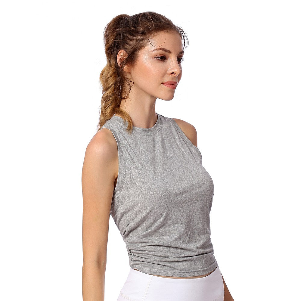Fitness Round Neck Top