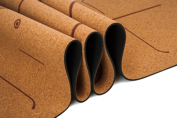 Natural Cork Yoga Mat (5mm)