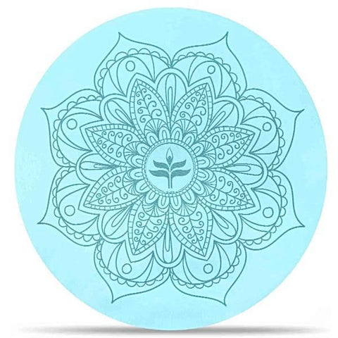 Small Round Meditation Mat