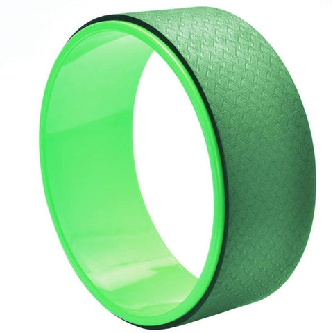 Light Green Yoga Wheel