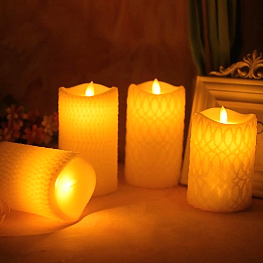 LED Candle Flickering Light