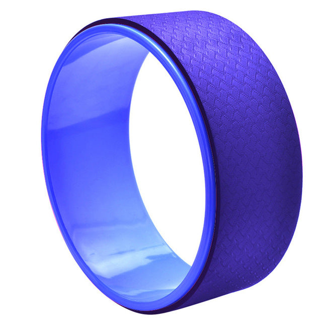 Deep Blue Yoga Wheel