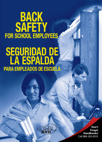 Back Safety For School Employees (DVD) (Spanish)