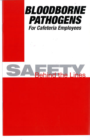 Bloodborne Pathogens For Cafeteria Employees: Safety Behind The Lines (DVD) (English)