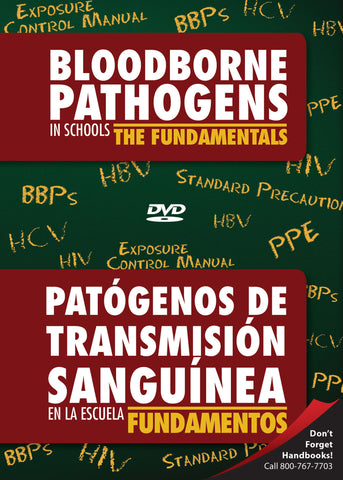 Bloodborne Pathogens In Schools: The Fundamentals (DVD) (English)